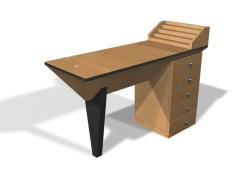 Design X 0055 Dante Nail Table