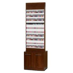 Gulfstream Paris Nail Polish Rack with Cabinet