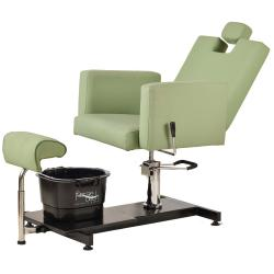 Pibbs PS13 Napoli Pedi Station w/ Adjustable Height Chair