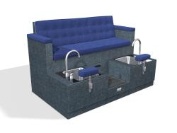 Design X 4150-D Liberty Sofa Pedicure Spa