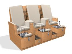 Design X 4475-T Claremont Sofa Pedicure Spa