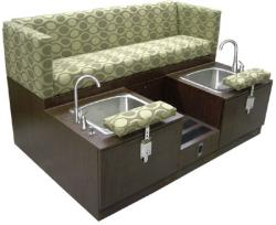 Design X 7192-D Cube Pedicure Spa Double