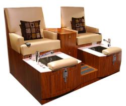 Design X DX-101D Lounge Double Unit Pedicure Spa