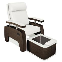 Living Earth Crafts 5th Avenue Pedi Lounge w/ Non-Jetted Plumbed Footbath