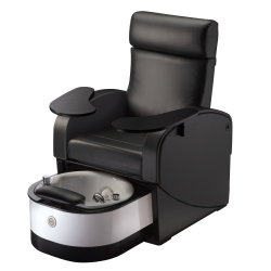 Living Earth Crafts Club Chair LE Manicure/Pedicure Chair with Retractable Tub