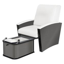 Living Earth Crafts Mystia Pedicure Chair w/ SaniJet Hydrotherapy Tub