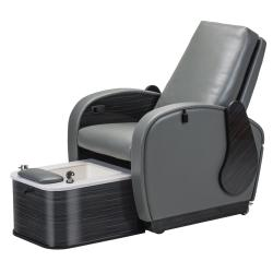 Living Earth Crafts Club Chair V2 Pedicure Chair w/ Non-jetted Plumbed Footbath