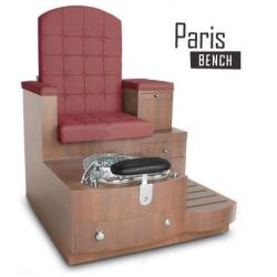 Gulfstream Paris Bench Pedicure Bench Spa