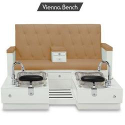 Gulfstream Vienna Double Bench Pedicure Spa