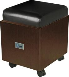 Collins QSE 2508 Pedi-Stool w/ Seat Cushion Only, Drawer, Casters