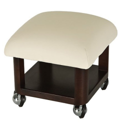 "Living Earth Crafts Pedicure Stool (14""H Non Adjustable)"