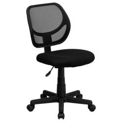 Flash Furniture Mid-Back Black Mesh Task Chair & Computer Chair