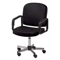 Pibbs 2692 Lila Desk Chair - Black Only