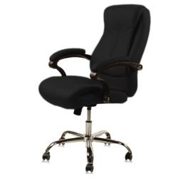 J & A USA Venus Customer Chair - Black