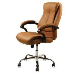 J & A USA Venus Customer Chair - Cappuccino