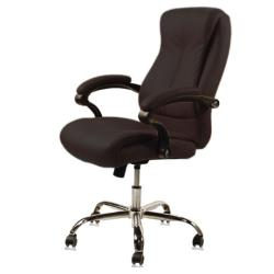 J & A USA Venus Customer Chair - Chocolate