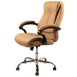 J & A USA Venus Customer Chair - Mocha