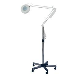 Pibbs 2010C Magnifying Lamp w/ Caster Base - 5 Diopter