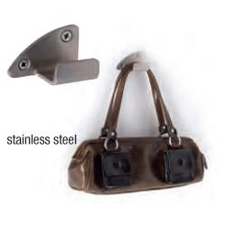 Salon Ambience ACC/035 Portaborsa Handbag Holder - Stainless Steel