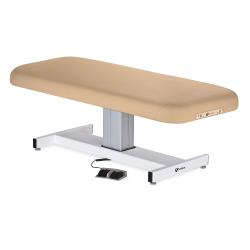 Earthlite Everest Flat Top Single Pedestal Electric Lift Massage Table