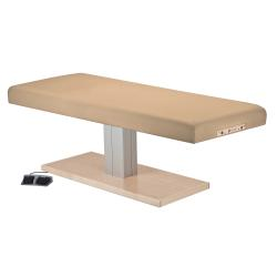 Earthlite Everest Spa Flat Top Single Pedestal Electric Lift Treatment Table