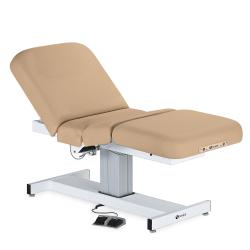 Earthlite Everest Pneumatic Gas Assist Salon Top Single Pedestal Electric Lift Massage Table