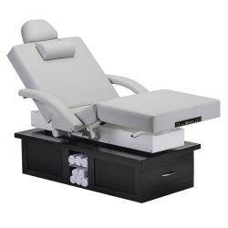 Earthlite Everest Eclipse Full Electric Salon Top Tilt Treatment Table w/ Accessories