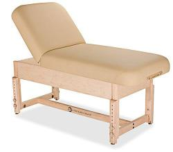 Living Earth Crafts Sonoma Manual Tilt Spa Treatment Table with Trestle Base