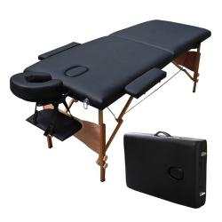 Salon Equipment Pros SEP-200B Daniel Portable Massage Table w/ Case