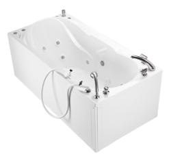 MTI Whirlpool HYD-201 Sanctuary Tub Pipeless