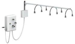 "Touch America 22003-0100 8-Head 72"" Rainbar, Standard Vichy Shower"