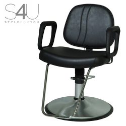 Belvedere-Maletti S4U S4LP500SC-BL Lexus Hair Styling Salon Chair