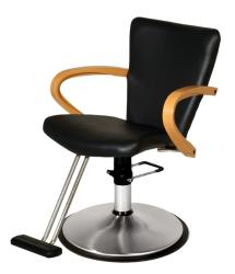 Belvedere Caddy PSDD12A-BL Hair Styling Chair w/ PS12FC Base