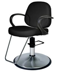 Belvedere Riva PSRV12-BL Hair Styling Chair w/ PS12FC Base