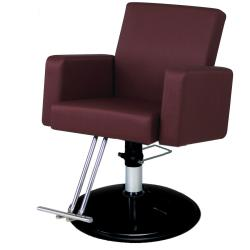 Belvedere Plush PH12 Hair Styling Salon Chair w/ Hydraulic Base Option