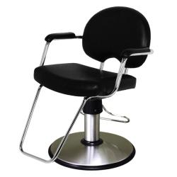 Belvedere Arch Plus PSAH22C-BL Hair Styling Salon Chair -PSCB12FC Base