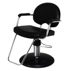 Belvedere Arch Plus PSAH22C-BL Hair Styling Salon Chair -PSCB12BC Base