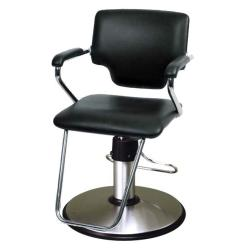 Belvedere PSBL82-BL Belle Hair Styling Salon Chair w/ PSCB12FC Base