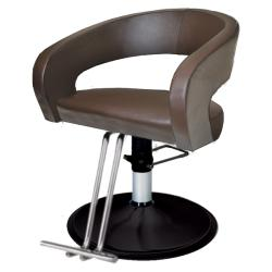 Belvedere Curve CUR12 Hair Styling Salon Chair - Hydraulic Base Option