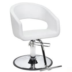 AYC Trinity Hair Styling Salon Chair - White