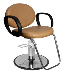 Collins QSE 1700 Berra Hair Styling Chair w/ Hydraulic Base Options
