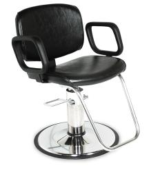 Collins QSE 1800 Hair Styling Salon Chair w/ Hydraulic Base Options