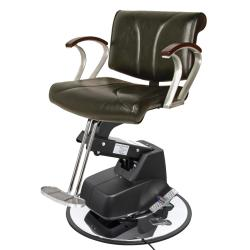 Collins 8101 New Chelsea BA Hair Styling Chair w/ Electric Base