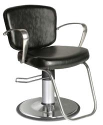 Collins 8300 Milano Hair Styling Salon Chair w/ Hydraulic Base Options