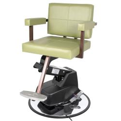 Collins 6700 Quarta Hair Styling Salon Chair w/ Electric Base