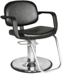 Collins QSE 1900 Jaylee Hair Styling Chair w/ Hydraulic Base Options