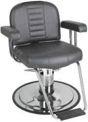 Collins QSE 8060S Charger Men's Styling Chair w/ Heavy Duty Base