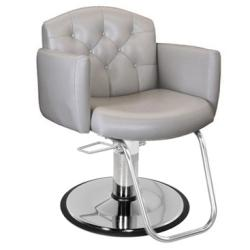 Collins 7100 Ashton Hair Styling Salon Chair w/ Hydraulic Base Options