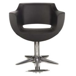 Gamma & Bross CLUST BLACK Styling Chair w/ Parrot Base