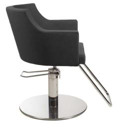 Gamma & Bross BIRKIN BLACK Styling Chair w/ Roto Base